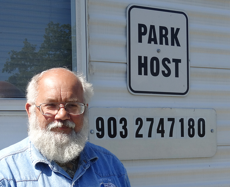 Park Host Randy lee