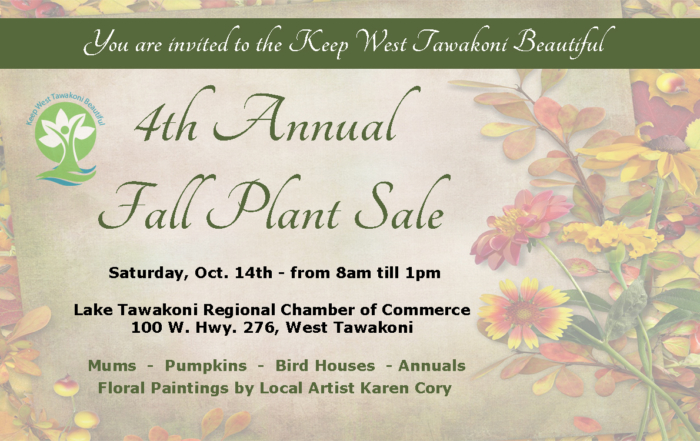 fall plant sale 2017